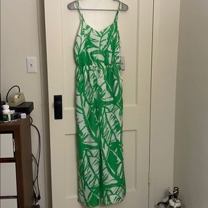 NWT Lilly Pulitzer for Target Green Romper S